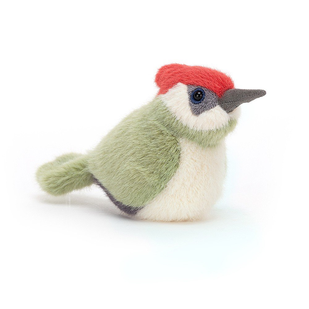 Birdling Woodpecker by Jellycat