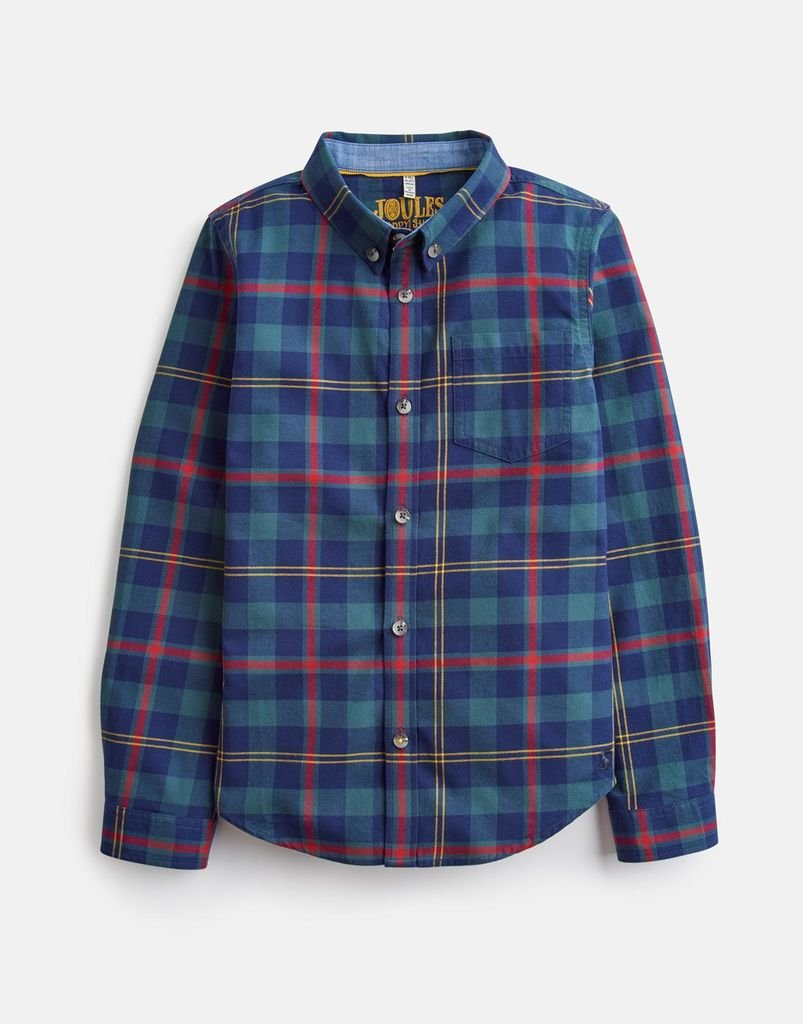 Tartan  Button Up by Joules