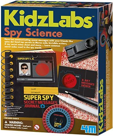 Spy Science by KidzLabs