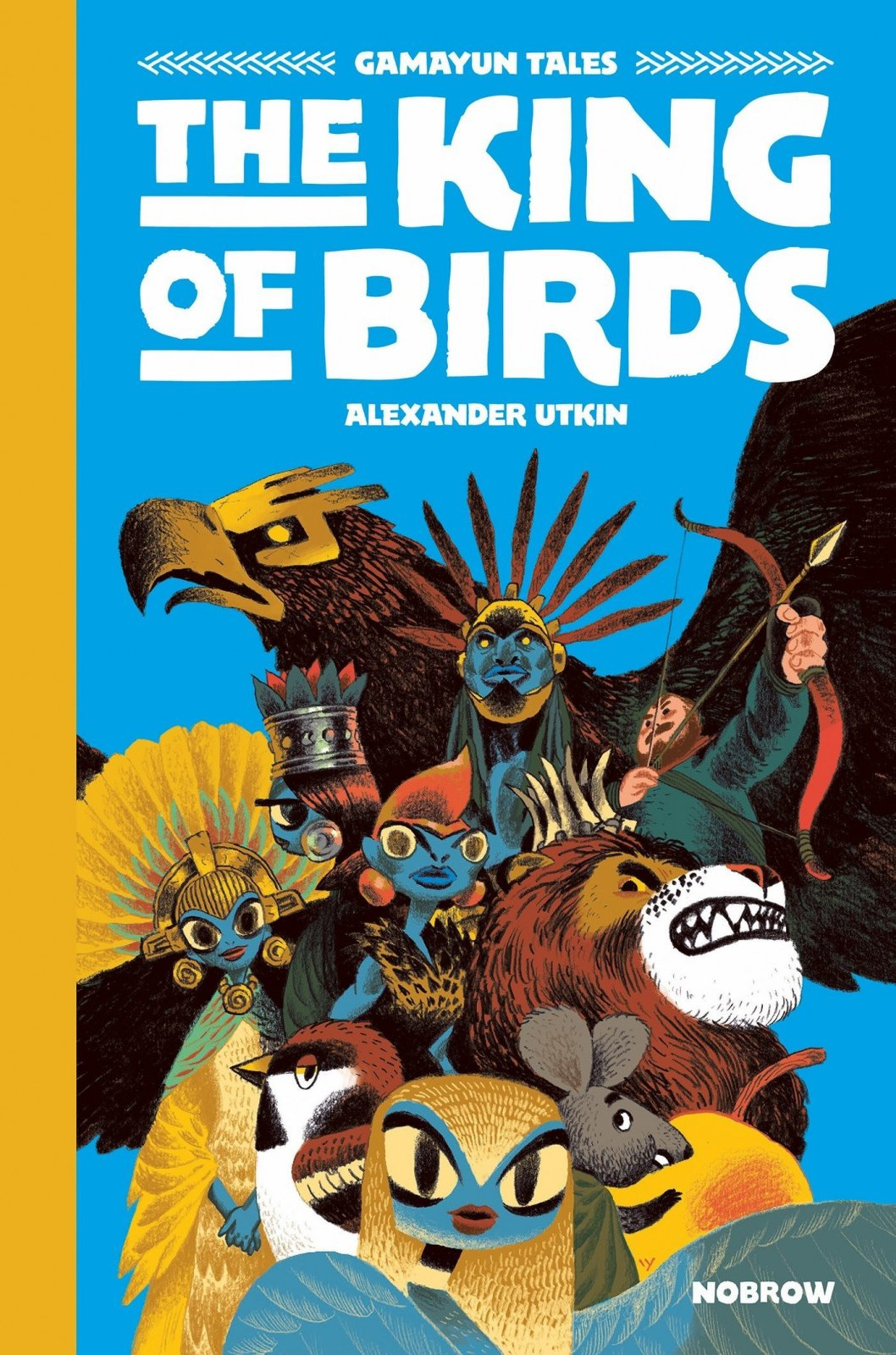 Gamayun Tales: The King of The Birds by Alexander Utkin