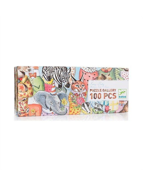 Gallery Puzzle King's Party - 100 pieces by Djeco