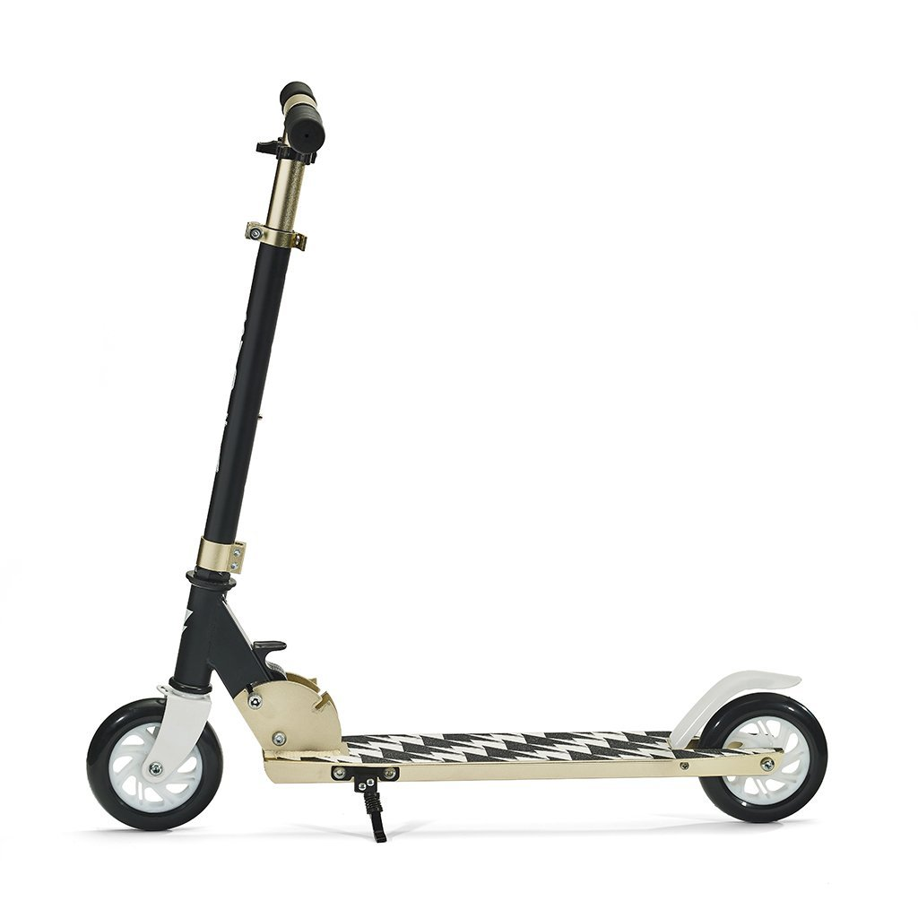 Legend 2-wheel Kick Scooter - Black and Gold by Svolta