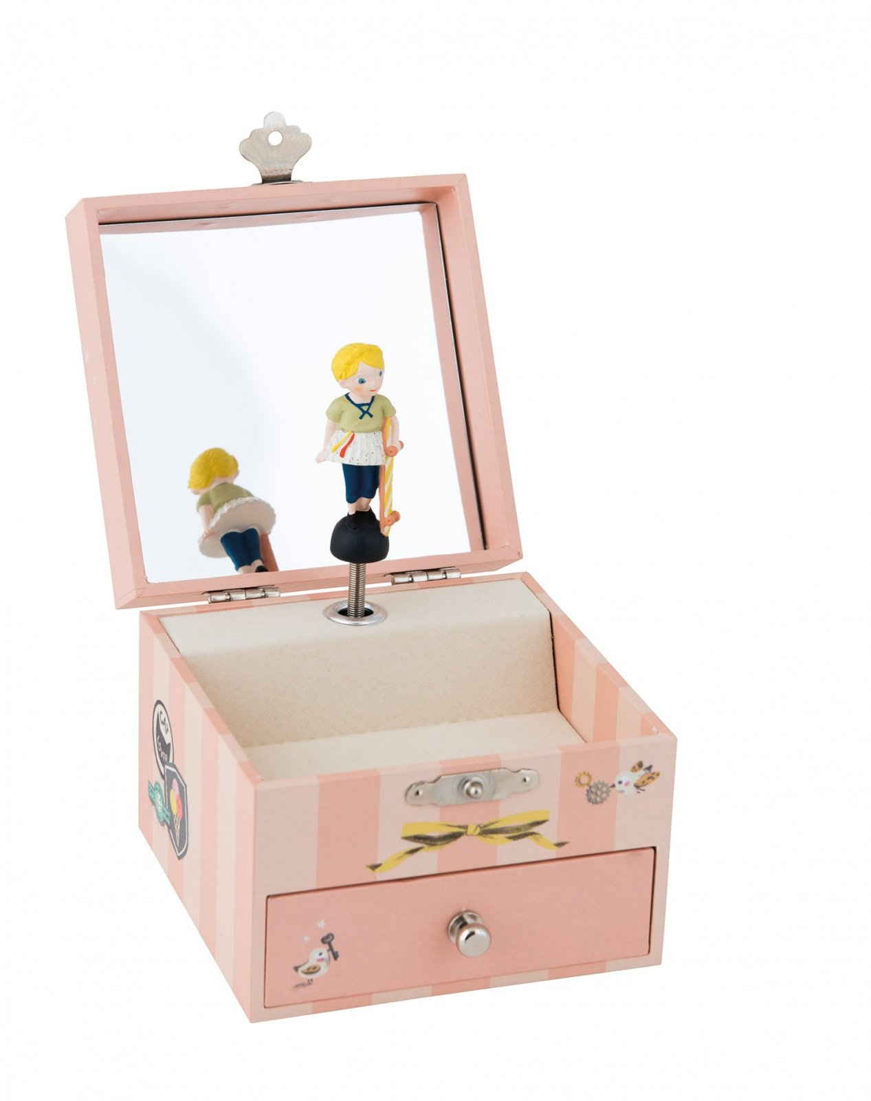 Les Parisiennes Musical Jewelry Box by Moulin Roty