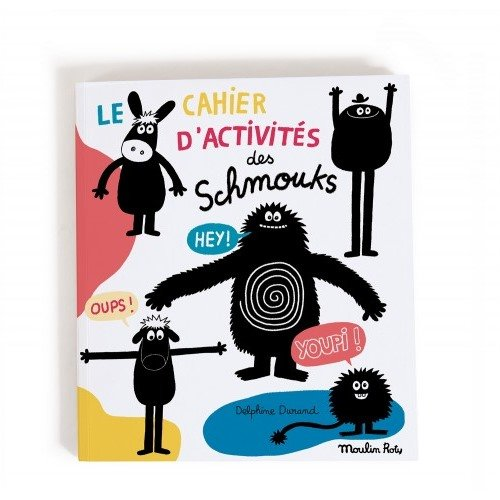 Les Shmouks Activity Book by Moulin Roty