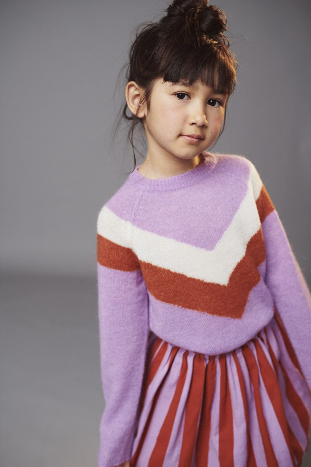 Sweet Lilac Sweater by Lily Balou