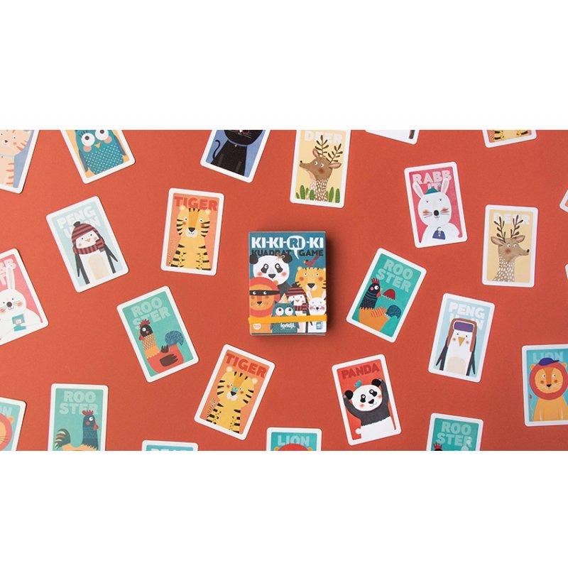 Ki-Ki-Ri-Ki Card Game by Londji