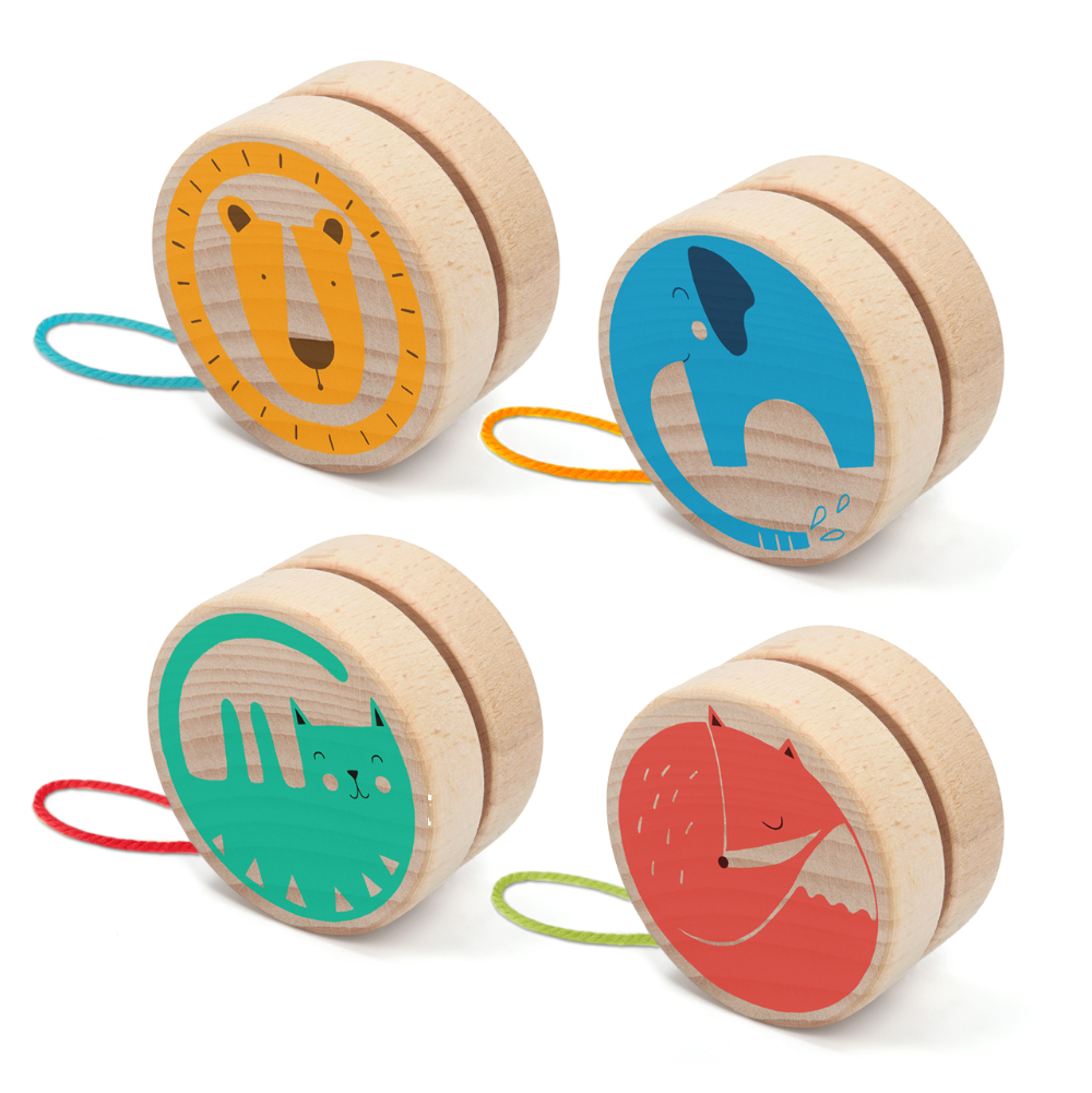 Wooden Animal Yo-Yo by Londji