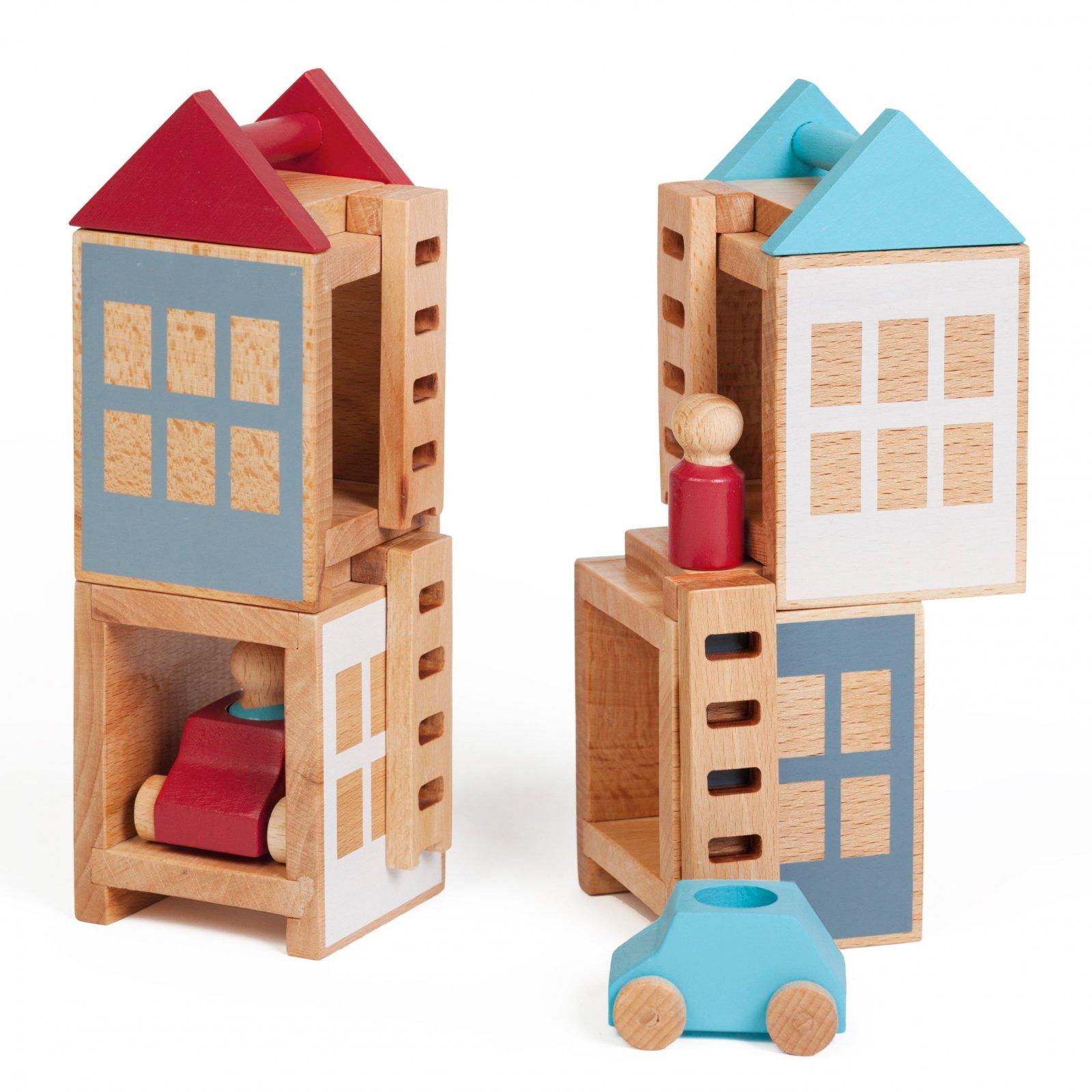 Lubu Town Maxi Construction Set - Summerville by Lubulona