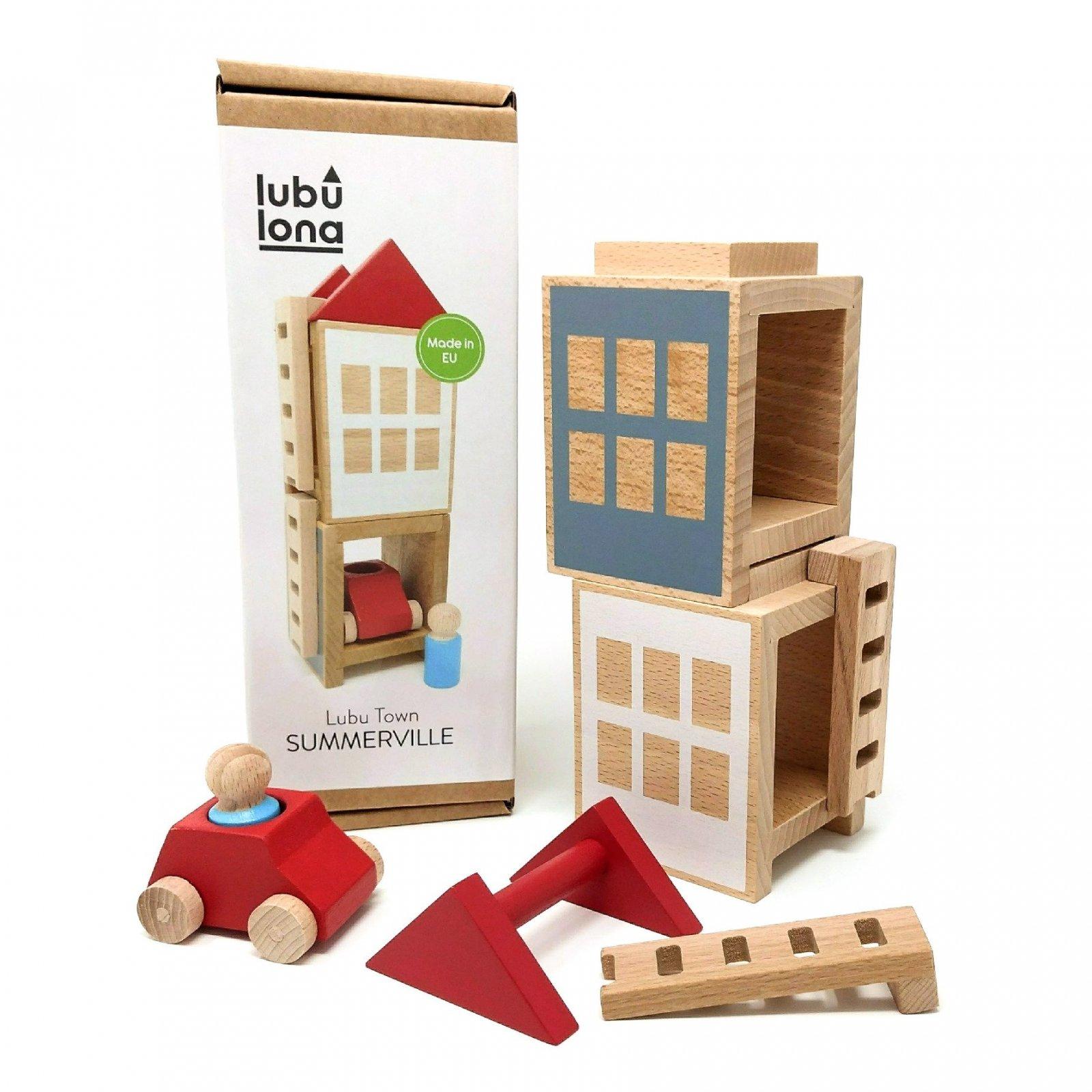 Lubu Town Mini Construction Set - Summerville by Lubulona