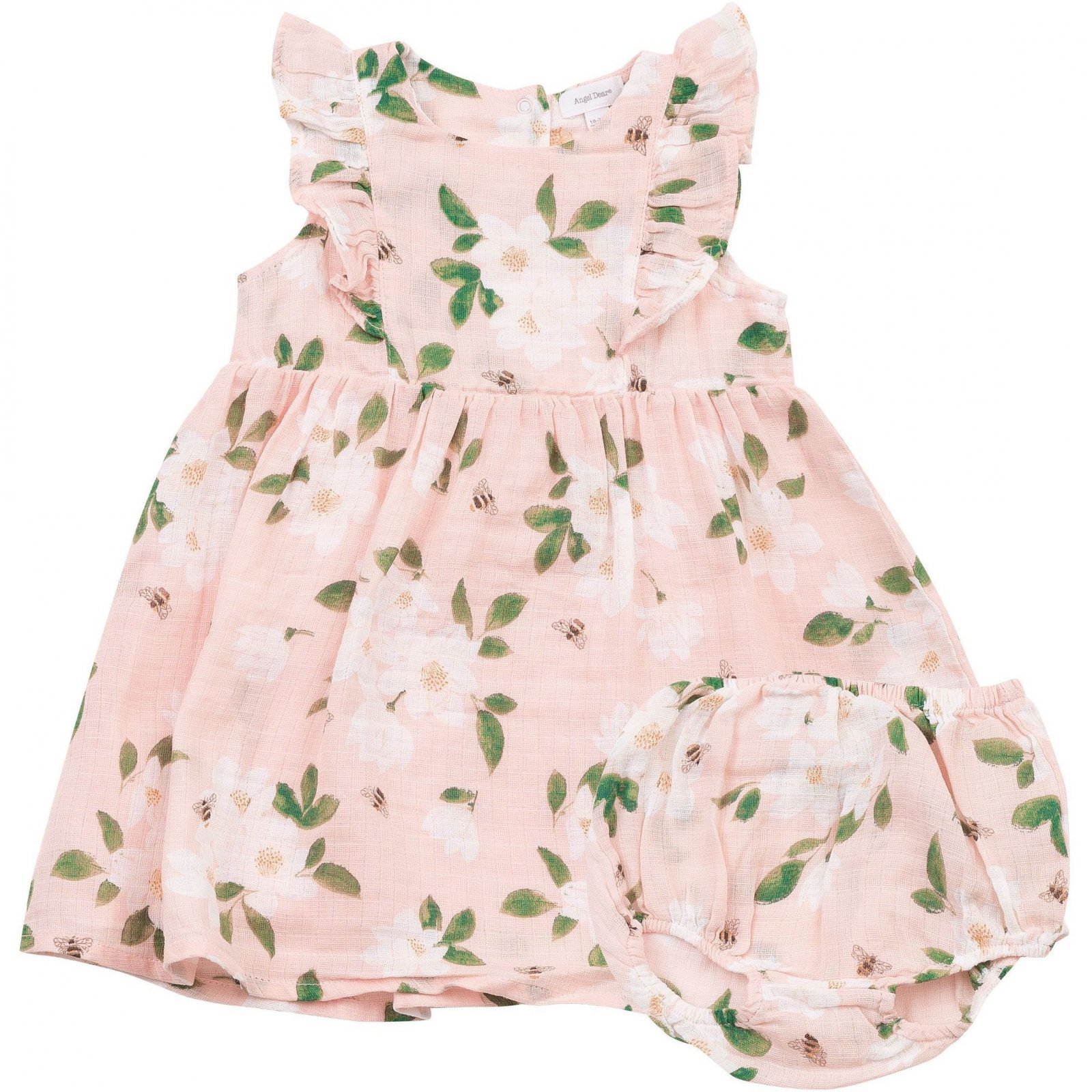 Magnolia Dress and Bloomer Set by Angel Dear