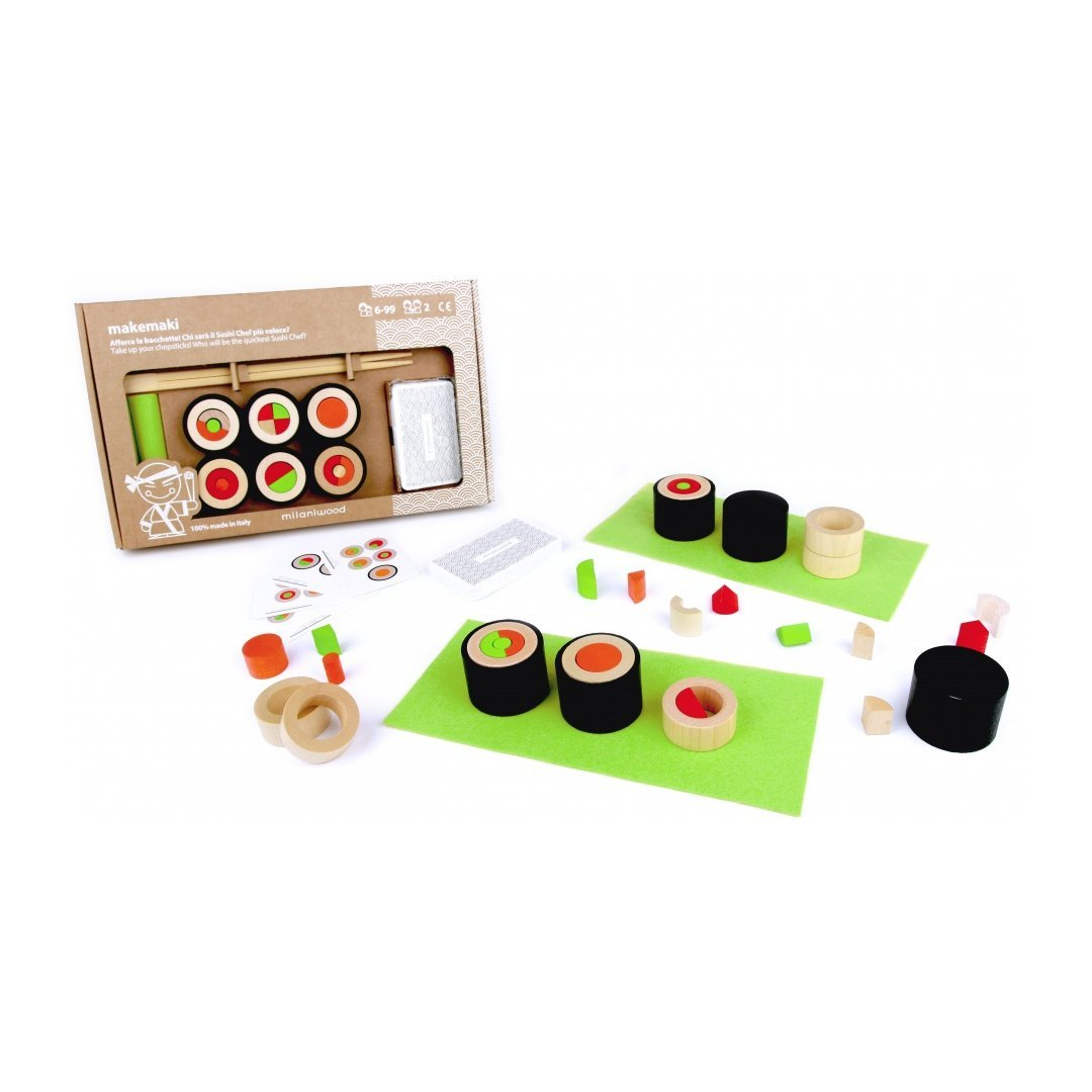 Makemaki Sushi Game by Milaniwood