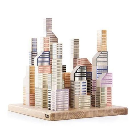 Manhattan Blocks by Bajo