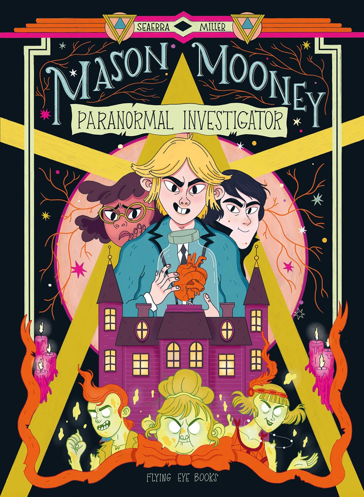Mason Mooney Paranormal Investigator by Seaerra Miller