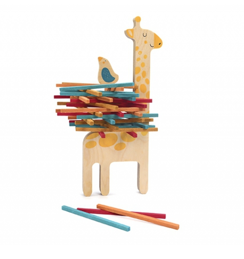 Matilda and Her Little  Friend Stacking Game by Londji