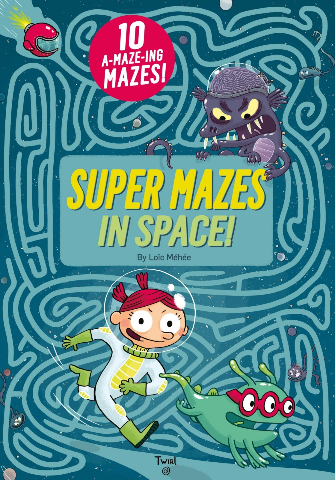 Super Mazes in Space by Loic Mehee