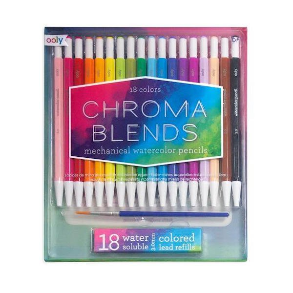 Chroma Blends Mechanical Watercolor Pencils by Ooly