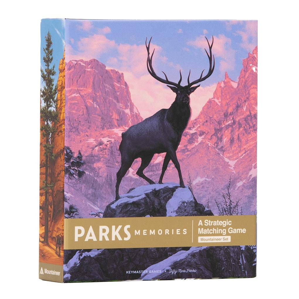 Parks Memories Mountaineer Set by Keymaster Games