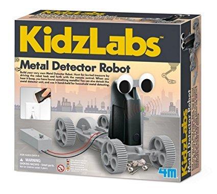 metal detector robot by kidzlabs