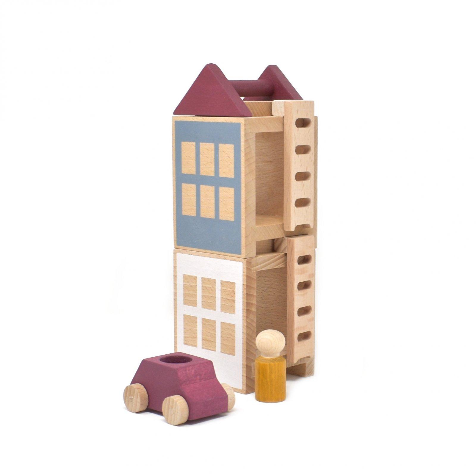 Lubu Town Mini Construction Set - Autumnvale by Lubulona