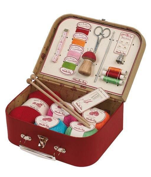 Sewing And Knitting Kit by Moulin Roty
