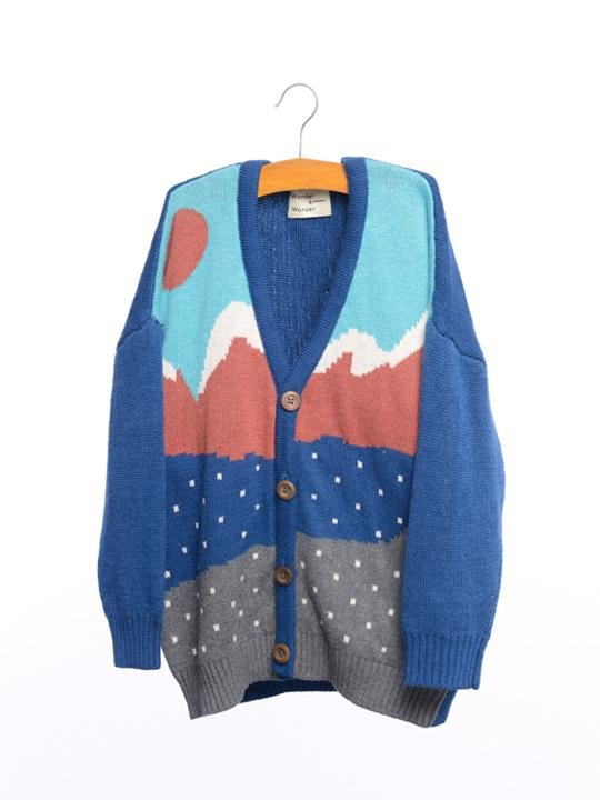 Mountain Cardigan by Wander & Wonder
