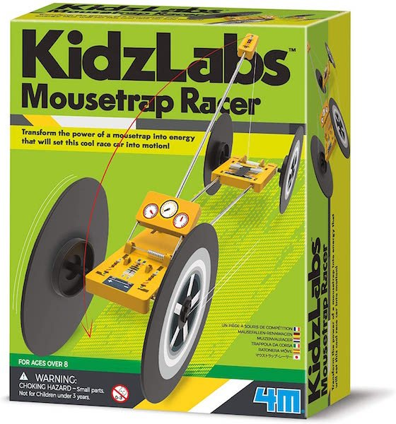 Mousetrap Racer by KidzLabs