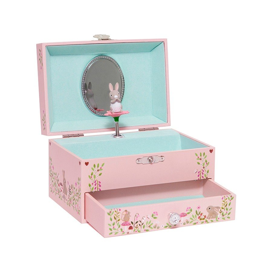 Blue Bird of Happiness Music Box by Petit Monkey