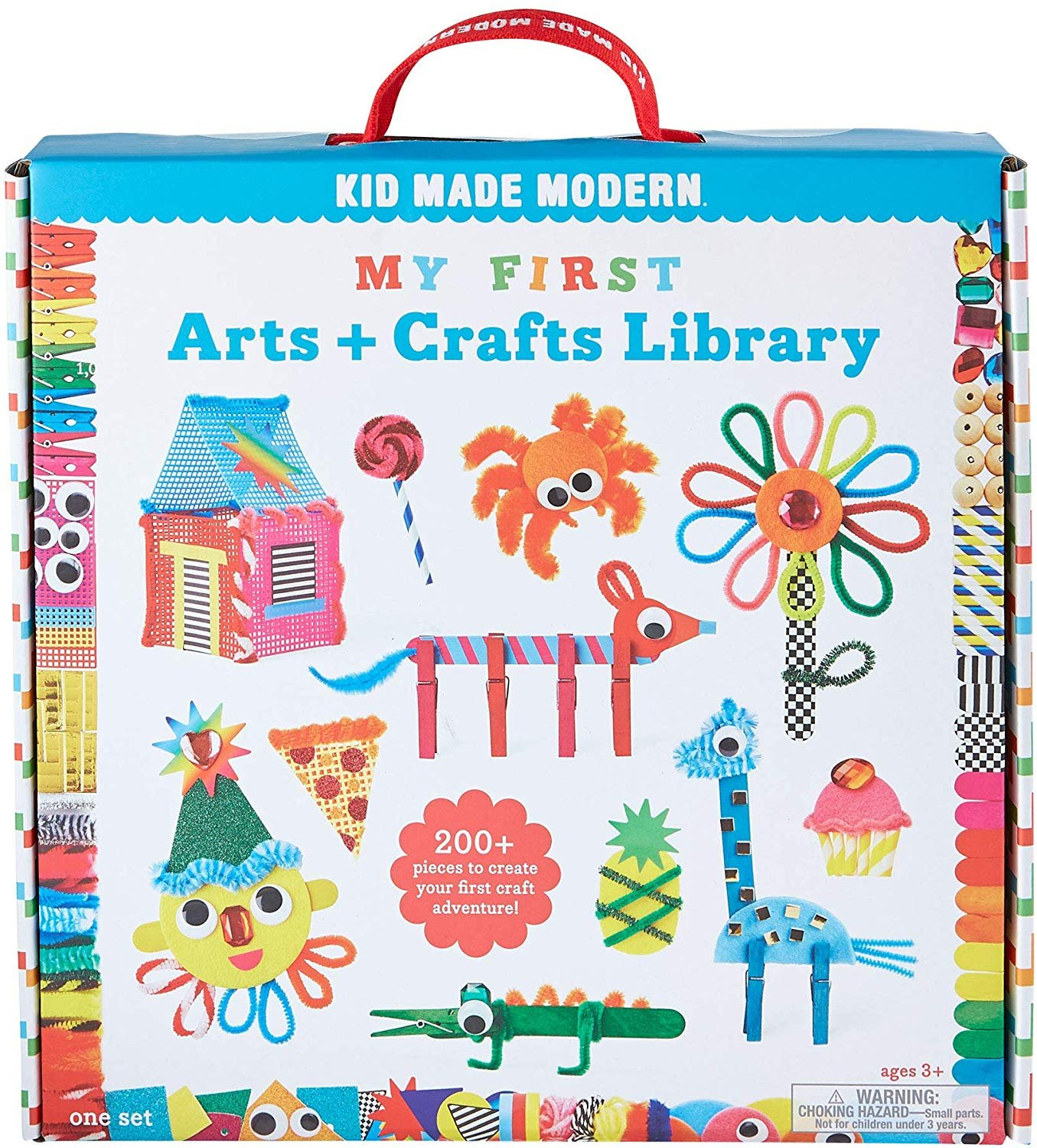 My First Arts and Crafts Library by Kid Made Modern