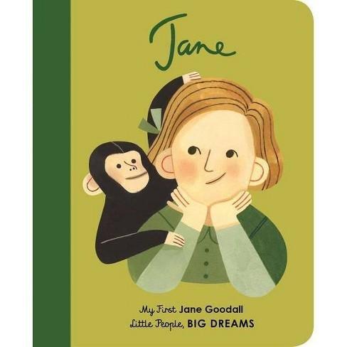 My First Jane Goodall Board Book by Maria Isabel Sánchez Vegara