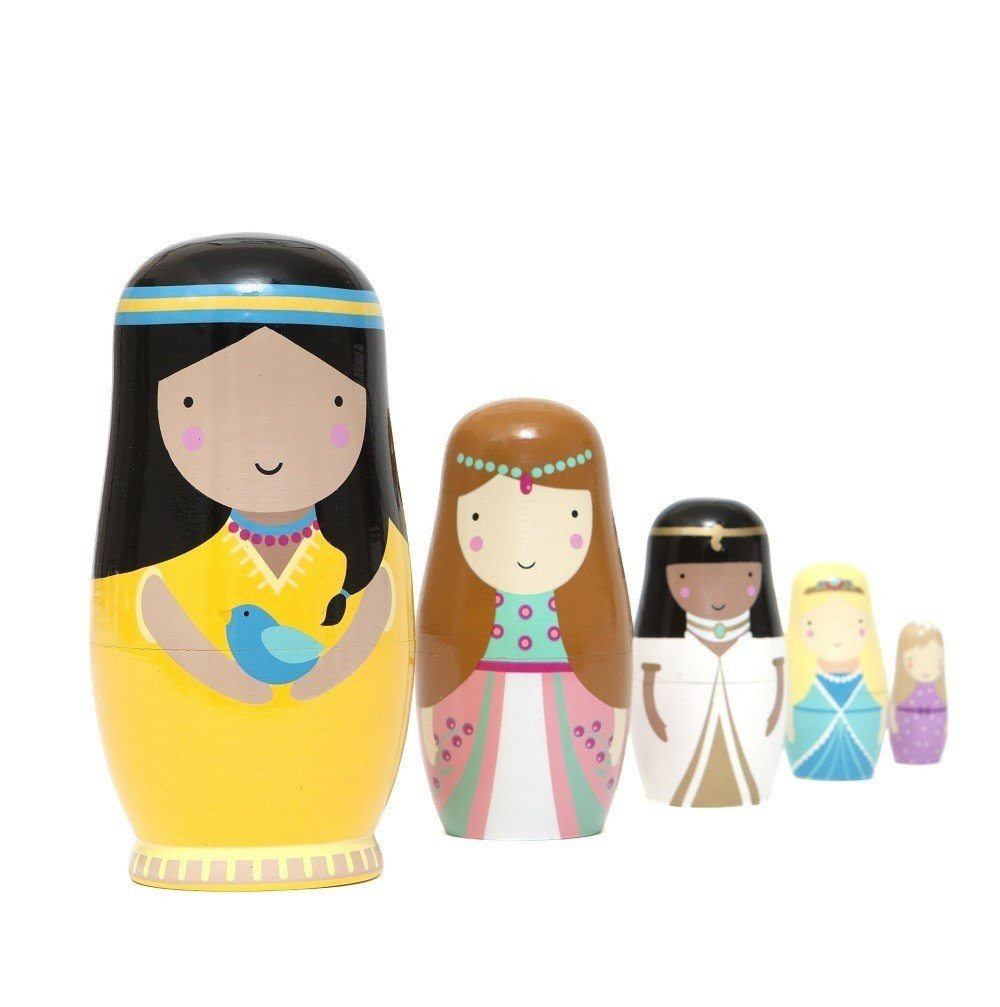 Princess Nesting Dolls by Petit Monkey