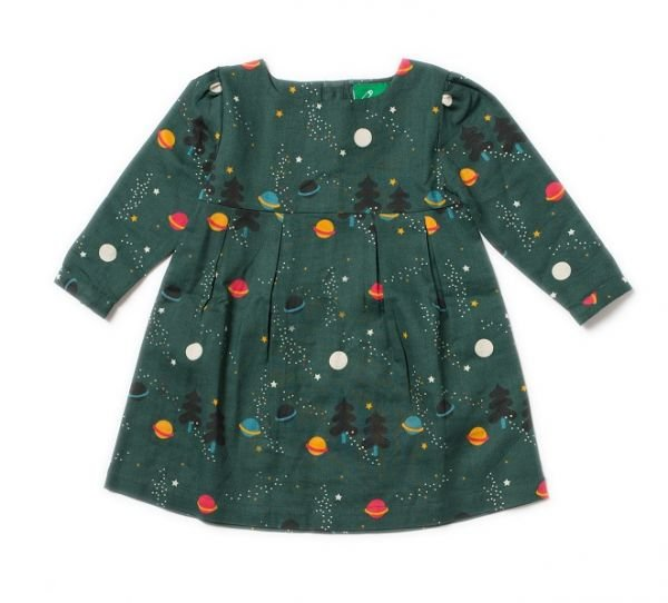 Northern Lights Smock Dress by Little Green Radicals