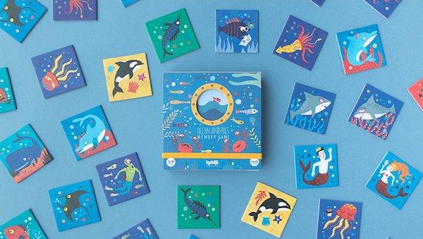 Ocean Animals Memory Game by Londji