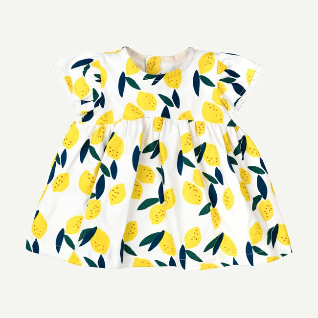 Lucky Lemons Dress Set by Oliver and Rain