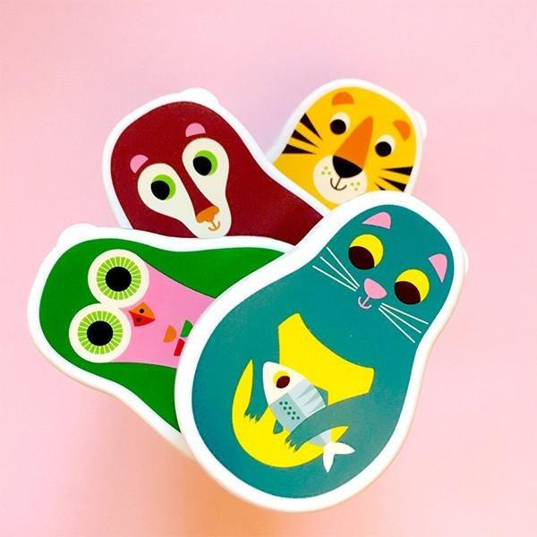Matryoshka Snack Box Set by Omm Design