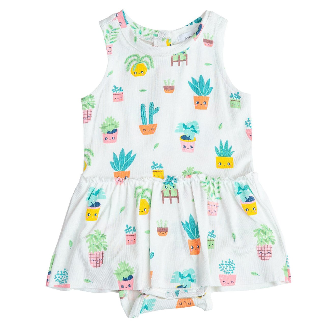 House Plant Pals Onesie Dress by Angel Dear