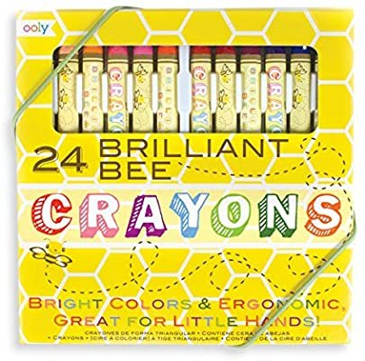 24 Brilliant Bee Crayons by Ooly