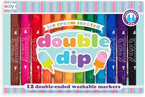 Ice Cream Scented Double Dip Markers by Ooly