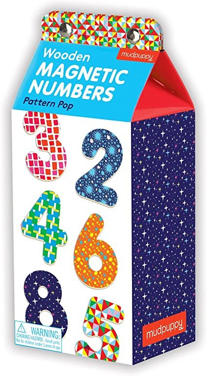 Pattern Pop Magnetic Numbers by Mudpuppy