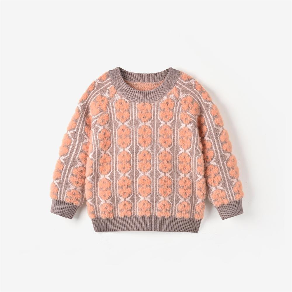 Fuzzy Peach Sweater by Aimama