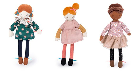 Les Parisiennes Dolls by Moulin Roty