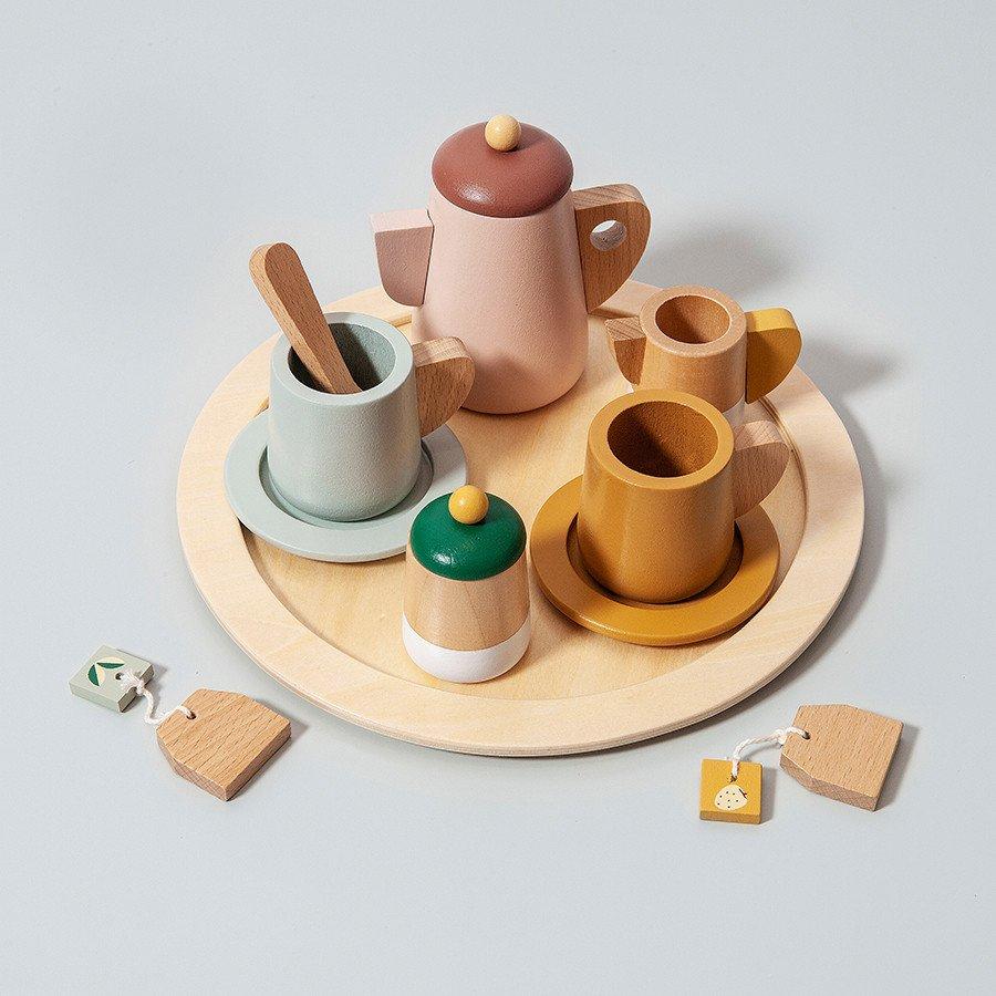 Wooden Tea Set by Petit Monkey