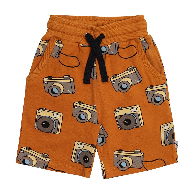 Oh Snap Camera Bermuda Shorts by Carlijnq