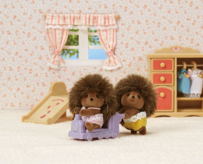 Pickleweed Hedgehog Twins by Calico Critters