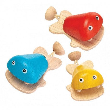 Fish Castanet by Plan Toys
