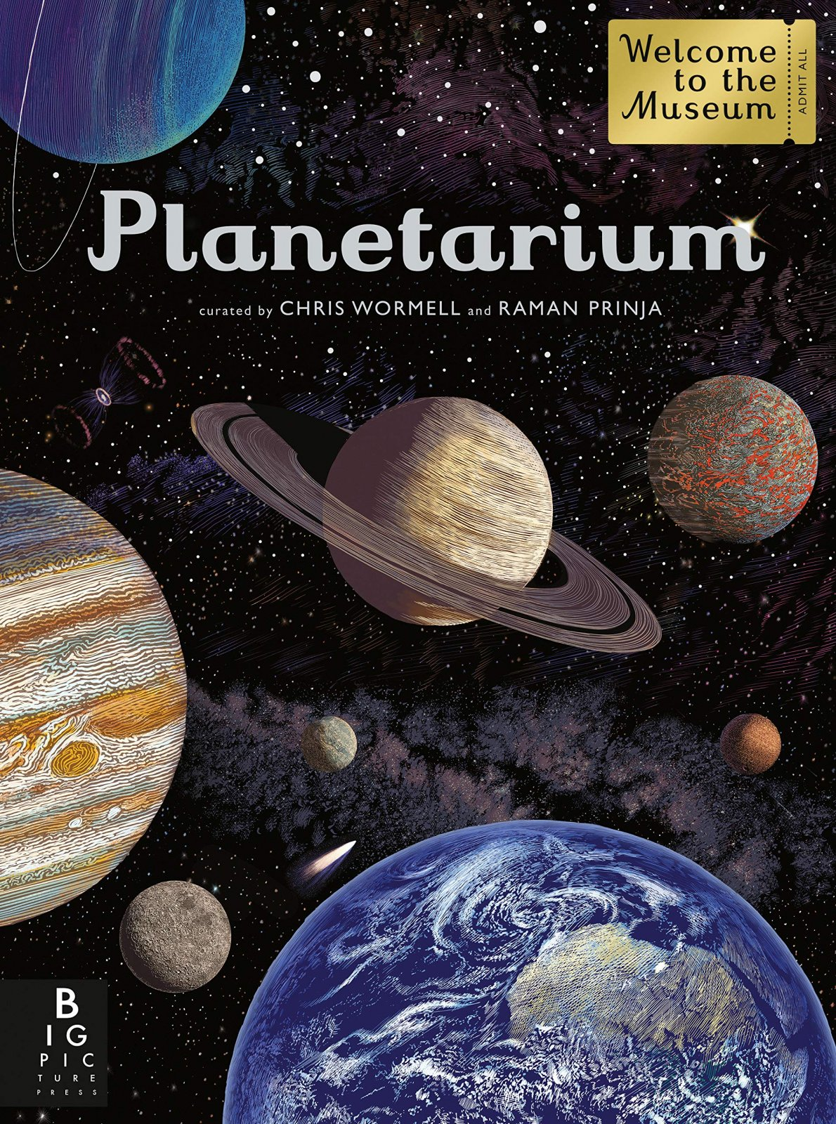 Planetarium By Chris Wormell and Raman Prinja
