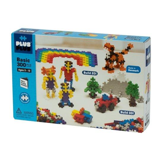 Plus-Plus Basic Colors - 300 Pieces