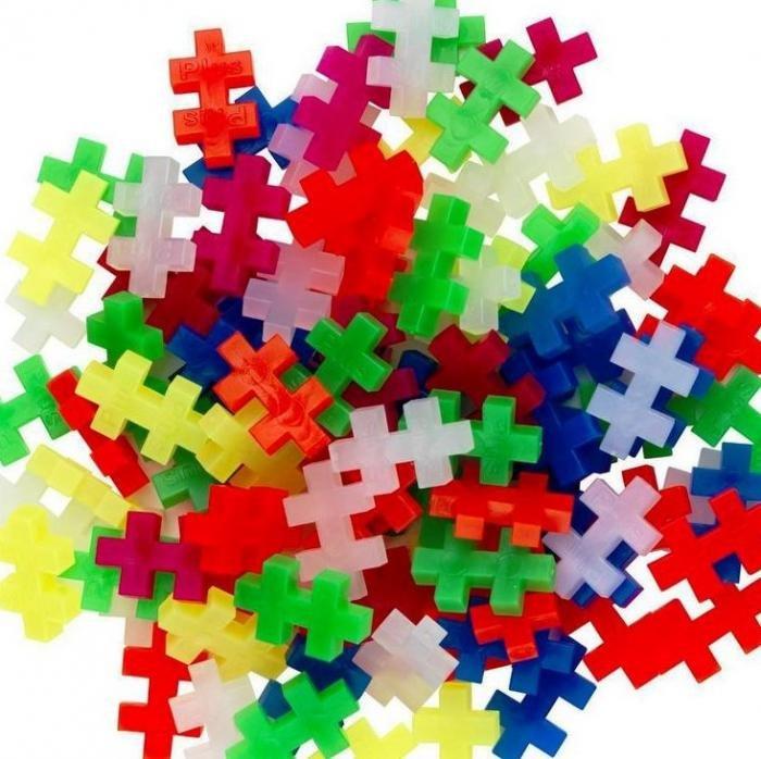 Plus-Plus Neon Colors- 300 Pieces