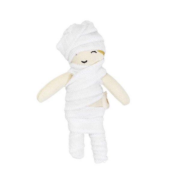 Halloween Pocket Friend - Little Mummy by Fabelab