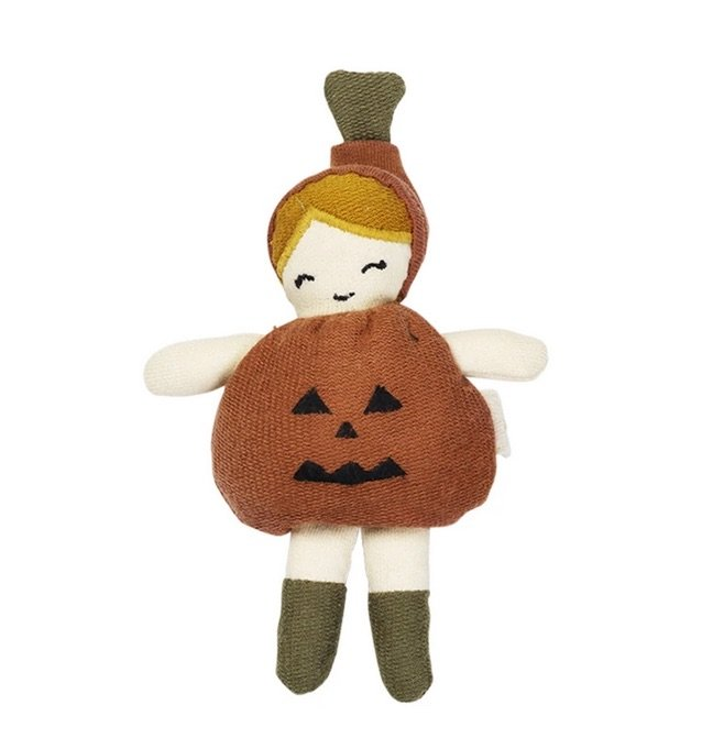 Halloween Pocket Friend - Little Pumpkin by Fabelab