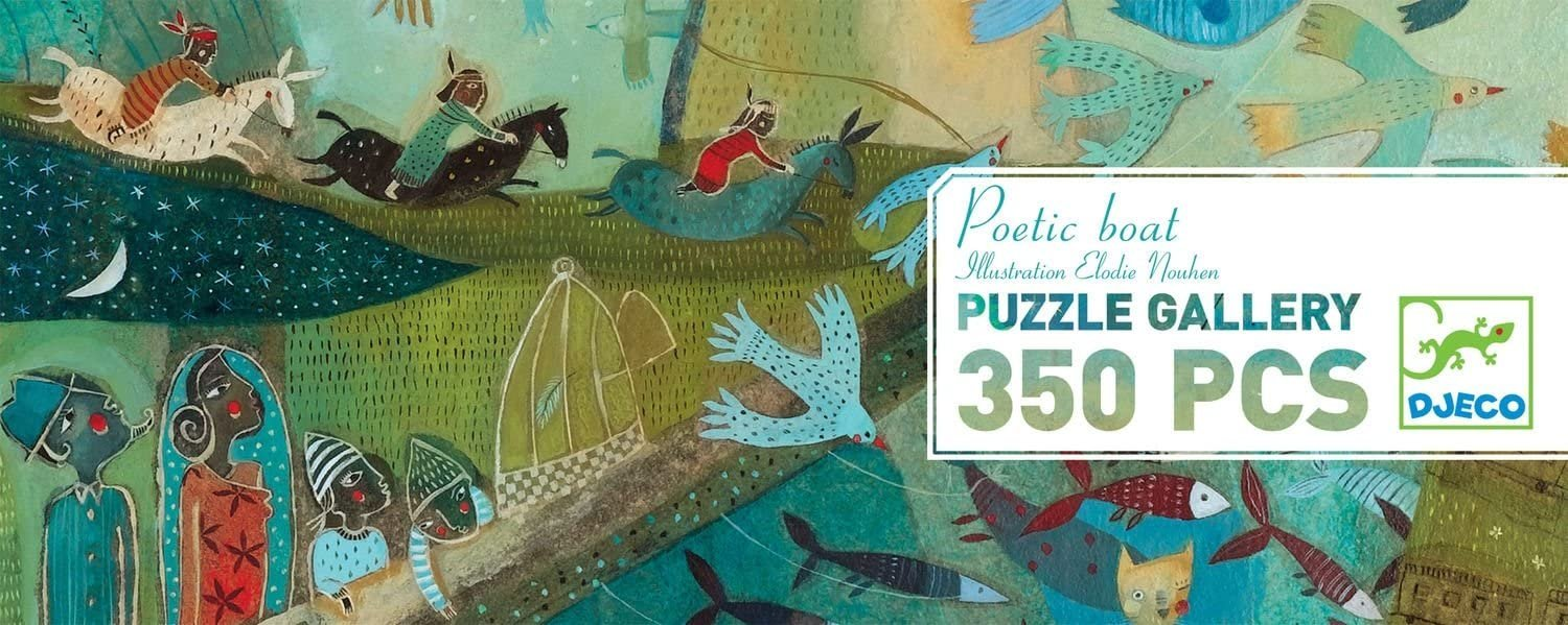 Poetic Boat Puzzle by Djeco